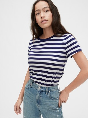 Gap Vintage Wash Stripe Crewneck T-Shirt