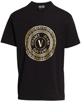 Versace New Buttons Logo T-Shirt