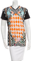 Balmain Short Sleeve Printed T-Shirt