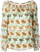 Tory Burch floral print blouse