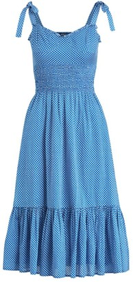 Polo Ralph Lauren Star Tie Mid-Length Dress