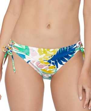 Raisins Juniors' Palm Springs Printed Bikini Bottoms Women's Swimsuit
