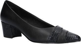 Easy Street Shoes Block Heel Pumps - Elle