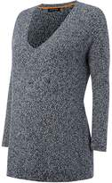 Isabella Oliver Kathryn V-Neck Maternity Knit Jumper