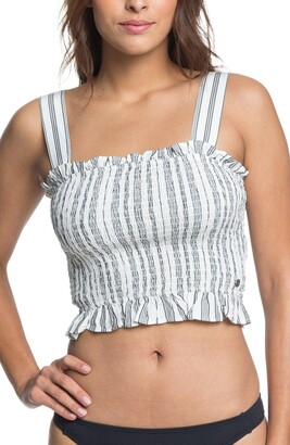 Roxy Volcanic Love Crop Top