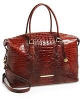 Brahmin 'Duxbury' Leather Travel Bag - Brown