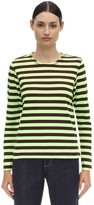 Ganni Striped Jersey T-shirt