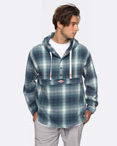 Quiksilver Mens Mad Wax 2 Flannel Hoodie Jacket