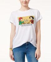 Freeze 24-7 Juniors' Daria High-Low Graphic T-Shirt