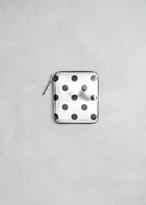 Comme des Garcons Silver Dot Optical Group Wallet