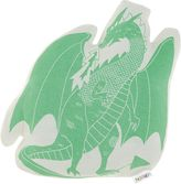 Hiccups Green Dragon Novelty Cushion
