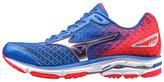 Mizuno Blue & Red Wave Rider 19 Running Shoe - Women