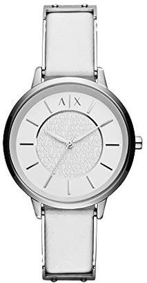 Armani Exchange Women's AX5300 leather Watch