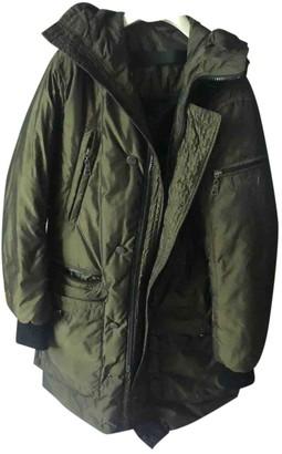 Gas Jeans Khaki Polyester Jackets