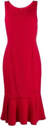 Dolce & Gabbana fitted ruffle dress