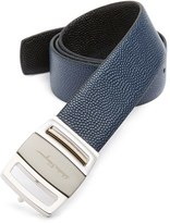 Salvatore Ferragamo Men's Calfskin Leather Belt