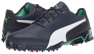 Puma Ignite ProAdapt X (Peacoat/Green) Men's Golf Shoes