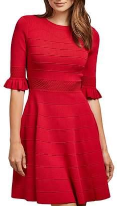 Ted Baker Dyana Sweetheart Bodice Knit Mini Dress