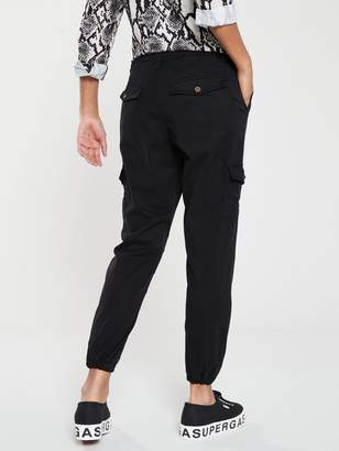 Very Cargo Jogger Trouser - Black