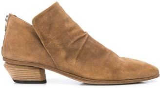 Officine Creative Pointed Toe Ankle Boots