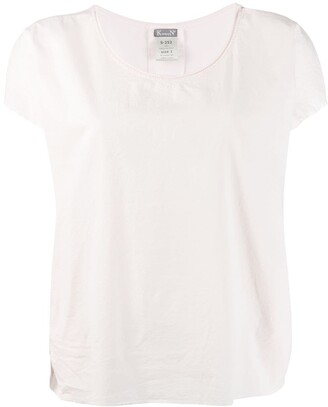 Kristensen Du Nord short-sleeve flared blouse