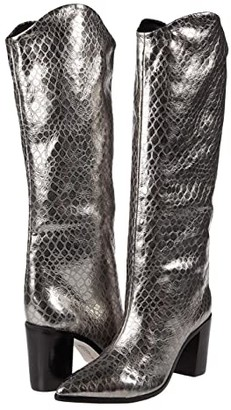 Schutz Analeah (Natural Snake) Women's Shoes