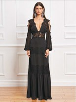 Majorelle Ronnie Dress in Black