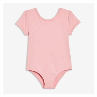Joe Fresh Toddler Girls' Active Bodysuit, JF Perennial Pink (Size 4)