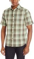 Woolrich Men's Red Creek Short Sleeve Modern Fit Shirt