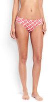 Classic Women's Mid Waist Bikini Bottoms-Aquamarine Sea