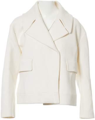 Krizia \N White Wool Coats