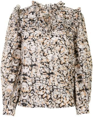 Sea Borealis Batik print blouse