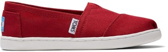Toms Youth Red Alpargata