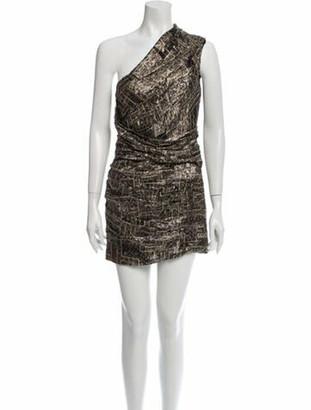 Isabel Marant Silk Mini Dress w/ Tags Gold