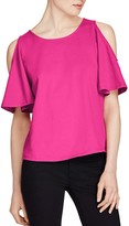 Lauren Ralph Lauren Cold-Shoulder Tee