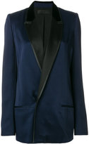 Haider Ackermann long double breasted blazer