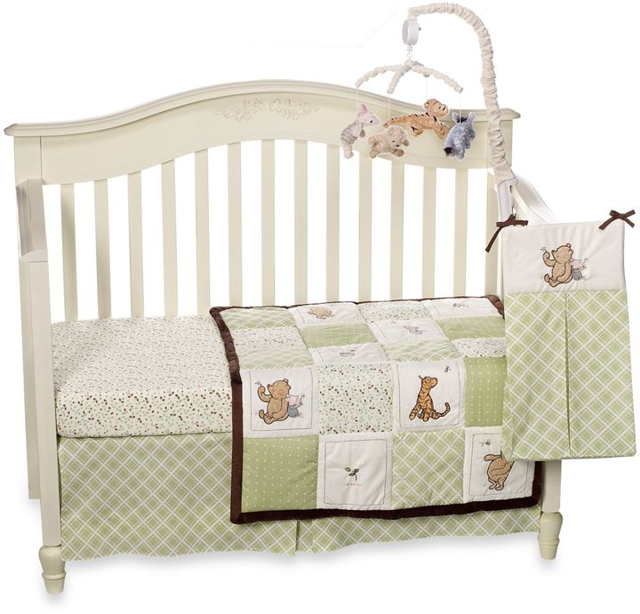NoJo My Friend Pooh Crib Bedding Collection