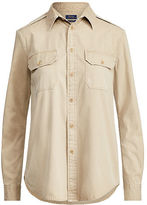 Polo Ralph Lauren Cotton Chino Military Shirt