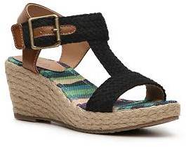 Mia Girls Rachel Toddler & Youth Wedge Sandal