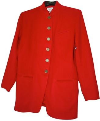 Ungaro Red Wool Jackets