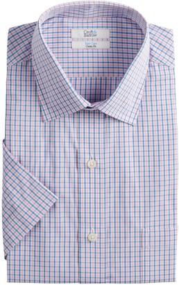 Croft & Barrow Men's Easy-Care Short-Sleeved Spread-Collar Dress Shirt