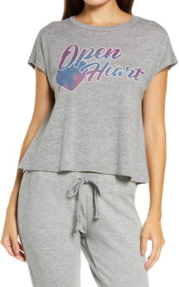 Chaser Open Heart Graphic Tee