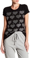 Romeo & Juliet Couture Short Sleeve Embellished Bead Tee