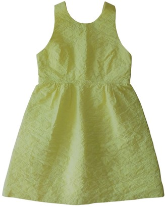 Paul & Joe Sister Yellow Cotton Dress for Women