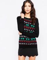 Sugarhill Boutique Birdie Fairisle Holidays Sweater