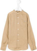 Dondup Kids - band collar shirt - kids - Ramie - 4 yrs