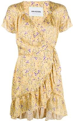 Ava Adore Floral Print Wrap Dress