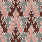 Kelly Wearstler Bengal Bazaar Fabric - Graphite Rose