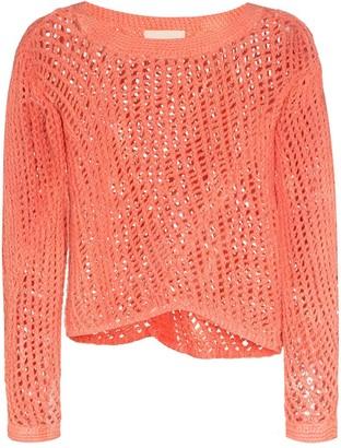 Nicholas Daley Crotchet Knit Sweater