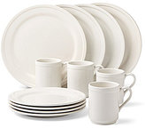 Kate Spade All in Good Taste Stoneware 12-Piece Dinnerware Set